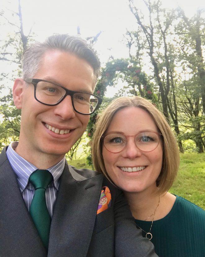 Ullrika&Mattias på bröllop