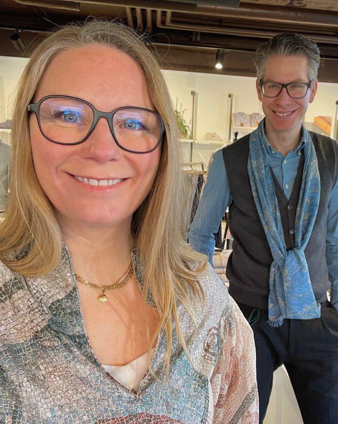 Ullrika&Mattias på jobbet